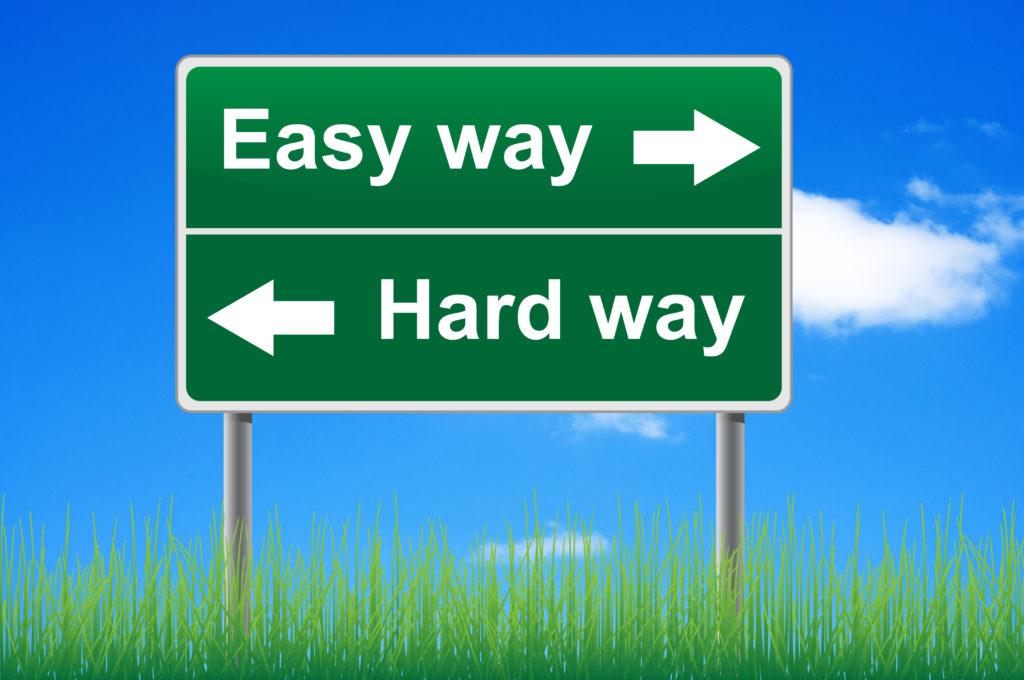 Easy Way - Hard Way